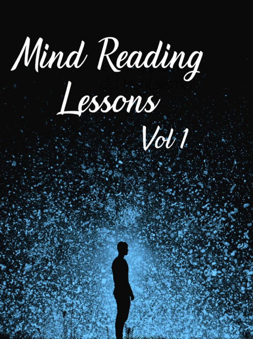 Mind Reading Lessons Vol 1 Hardbound Book - Wonder Wizards