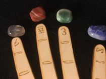 Gemstone Hand Readings Props (Art and Magic Productions)