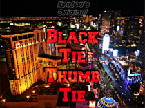 Black Tie Zip Tie Thumb Tie 2018 Version