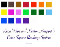 Color Square Reading System (Download PDF, JPG and mp3)