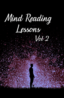Mind Reading Lessons Vol 2 Huge Hardbound Book