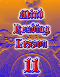 Mind Reading Lesson 11 - PDF Download