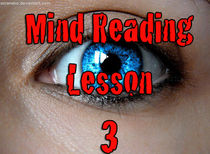 Mind Reading Lesson 3 - Download PDF