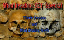 Mind Reading Lesson 1, 2, 3 with Bonus BOOK - Download PDFs